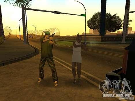 Polícia camuflada para GTA San Andreas