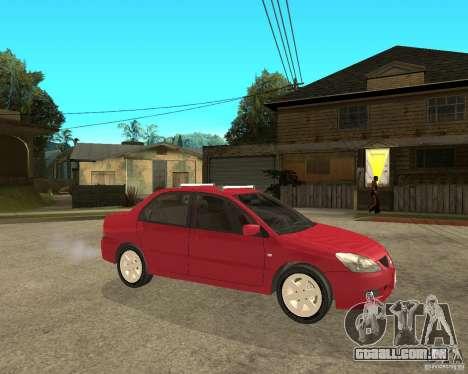 Mitsubishi Lancer 2005 para GTA San Andreas