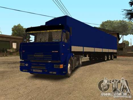 KAMAZ 5460 Truckers 2 para GTA San Andreas