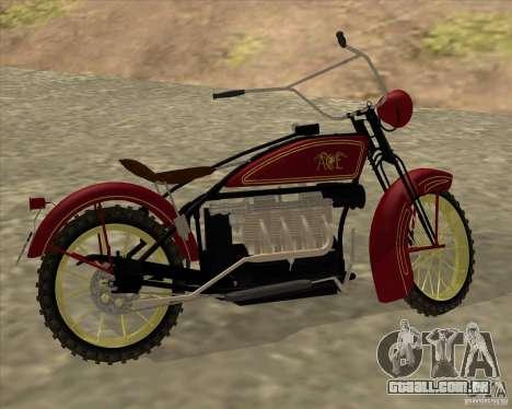 1923 ACE 1200cc para GTA San Andreas vista direita