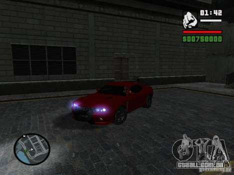 NFS Undercover Coupe para GTA San Andreas