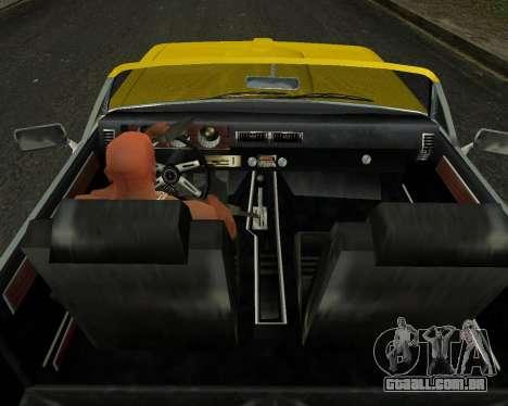 EON Stallion GT-A para GTA San Andreas vista traseira