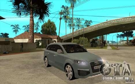 Audi Q7 V12 TDI 2011 para GTA San Andreas