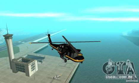 Annihilator para GTA San Andreas vista interior