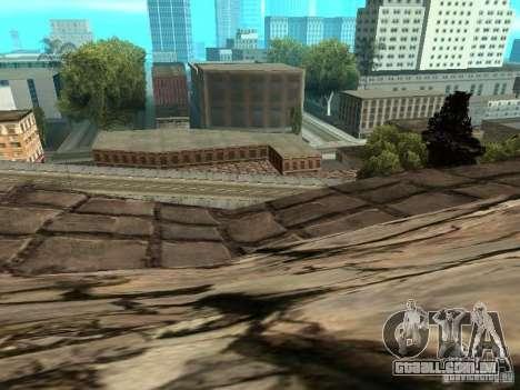 Stone Mountain para GTA San Andreas oitavo tela