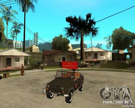 UAZ 469 Parade para GTA San Andreas
