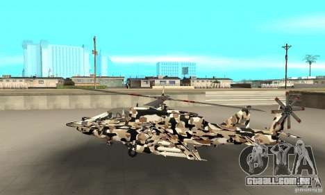 Hydra Hunter para GTA San Andreas esquerda vista