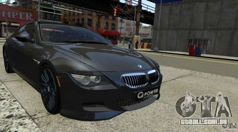 BMW M6 Hurricane RR para GTA 4 traseira esquerda vista
