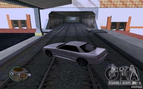 Rails russos para GTA San Andreas terceira tela