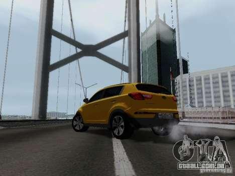 KIA Sportage para GTA San Andreas vista direita