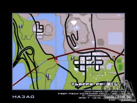 Dragão para GTA San Andreas por diante tela