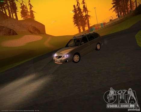 Restajl Vaz-2171 para GTA San Andreas