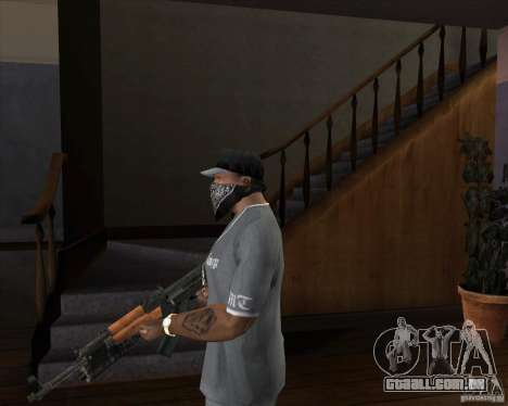 AK-47 atualizado para GTA San Andreas segunda tela