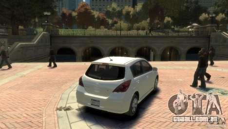 Nissan Versa SL para GTA 4 esquerda vista