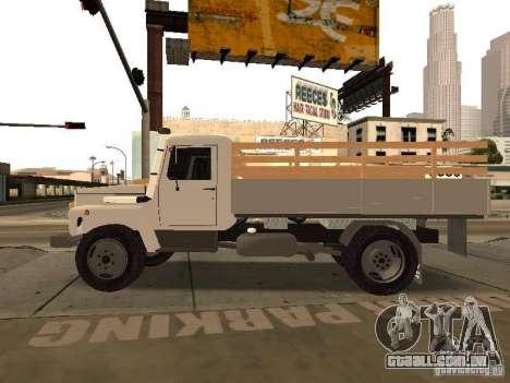 GAZ 3309 para GTA San Andreas esquerda vista