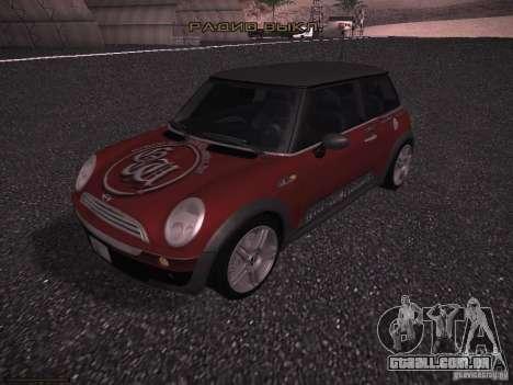 Mini Cooper S para o motor de GTA San Andreas