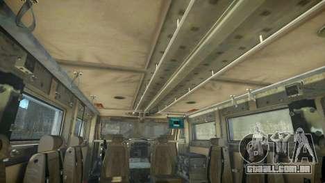 HEMTT Phalanx Oshkosh para GTA 4 vista de volta