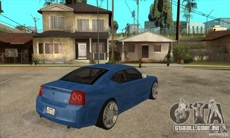 Dodge Charger R/T 2006 para GTA San Andreas vista direita