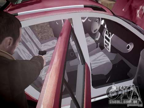 Dacia Sandero Stepway para GTA 4 motor