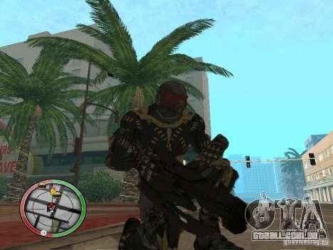 Armas alienígenas de Crysis 2 para GTA San Andreas