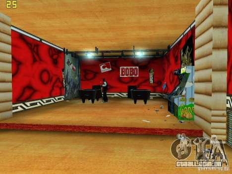 New Bar Ganton v.1.0 para GTA San Andreas quinto tela