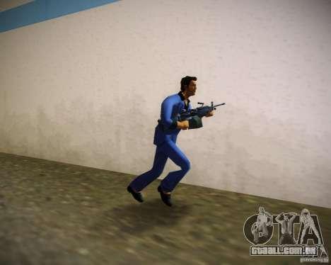 FN M249 para GTA Vice City segunda tela