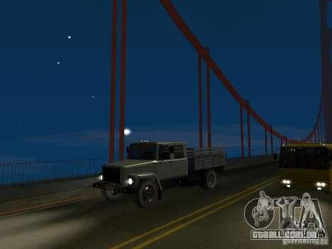GAZ 3309 Huntsman para GTA San Andreas vista direita