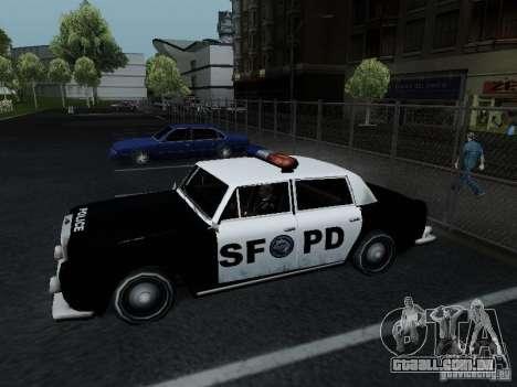 Stafford Police SF para GTA San Andreas esquerda vista