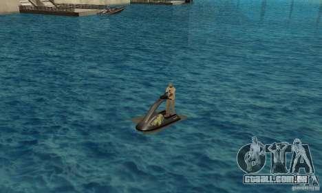 Scooter de água para GTA San Andreas