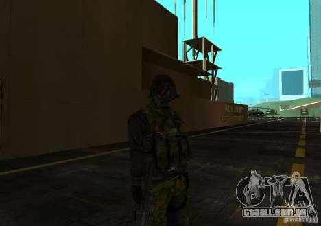 Pele de Battlefield 3 para GTA San Andreas terceira tela
