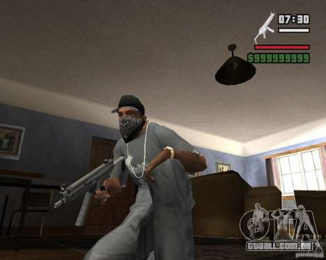 Mp5HD para GTA San Andreas segunda tela