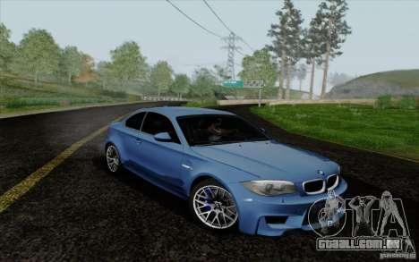 BMW 1M 2011 V3 para GTA San Andreas