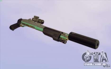 Low Chrome Weapon Pack para GTA San Andreas décima primeira imagem de tela