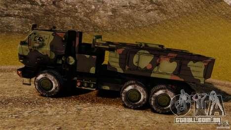M142 HIMARS para GTA 4 esquerda vista