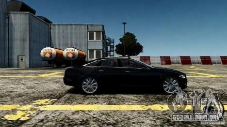 Jaguar XJ 2012 para GTA 4 esquerda vista