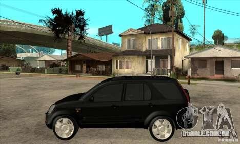 Honda CRV (MK2) para GTA San Andreas esquerda vista