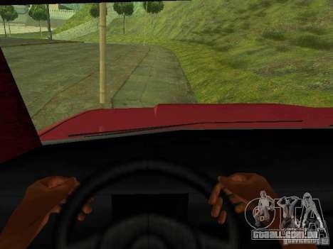 Picador para GTA San Andreas vista traseira