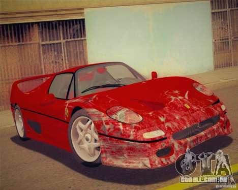 GTA IV Scratches Style para GTA San Andreas por diante tela