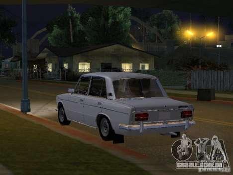VAZ 2103 baixo clássico para GTA San Andreas traseira esquerda vista