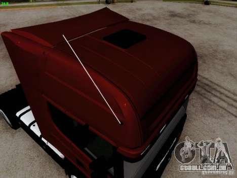 Scania R580 V8 Topline para GTA San Andreas vista direita