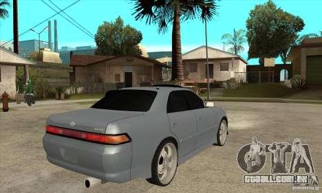 TOYOTA MARK II GT para GTA San Andreas vista direita