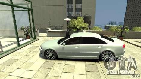 Audi A8 4.2 QUATTRO beta para GTA 4 esquerda vista