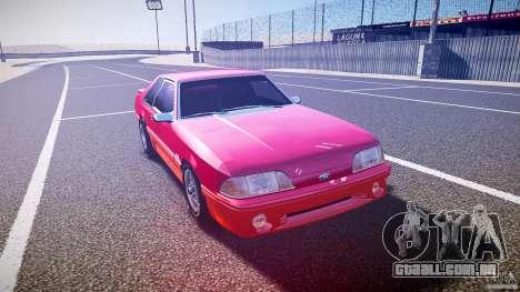 Ford Mustang GT 1993 Rims 2 para GTA 4 vista de volta