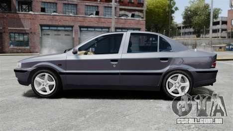 Iran Khodro Samand LX para GTA 4 esquerda vista