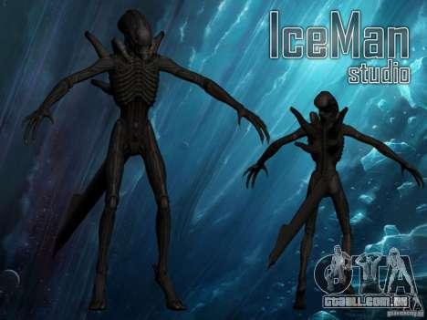 Alien Xenomorph para GTA San Andreas
