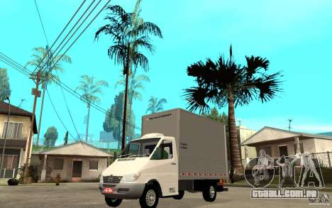 Mercedes-Benz Sprinter Truck para GTA San Andreas