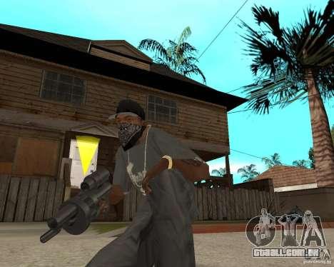 Shotgun in style revolver para GTA San Andreas terceira tela