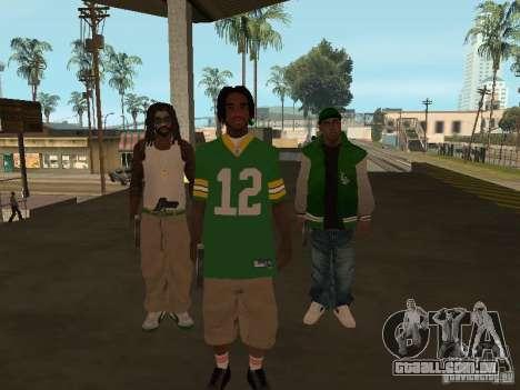 Novas skins Grove para GTA San Andreas