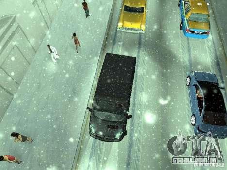 Vauxhall Vivaro v0.1 para GTA San Andreas vista interior