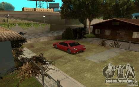 Carros esporte perto de Grove Street para GTA San Andreas segunda tela